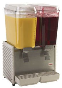 Crathco 2 Flavor Cold Beverage Soda Juice Dispenser