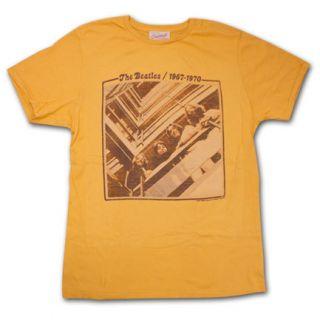 New Authentic Junk Food Mens The Beatles Vintage 1967 70 Retro T Shirt