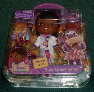 Doc McStuffins Time for A Checkup Just Play New in Box Playset