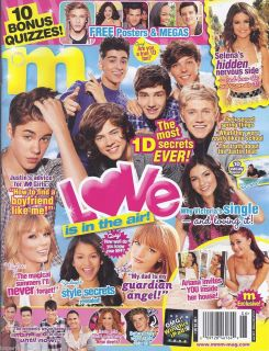 Magazine One Direction Justin Bieber Taylor Swift Selena Gomez