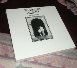 Beatles John Lennon Yoko Ono Wedding Album Cassette Box SEALED 1969