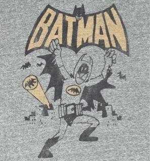New Authentic Junk Food Mens I Am Batman Tri Blend Tee Shirt