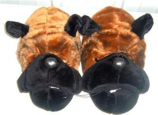 Dog Great Dane Men Plush House Slippers Shoe M9 10 New