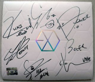 Mama Promo CD 1st Mini Album Signed Exo Exo M Kai Sehun D O