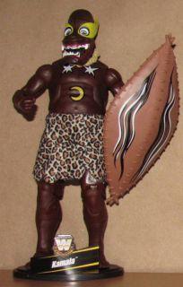 Kamala WWE Mattel Legends 2 Wrestling Figure Lot WWF