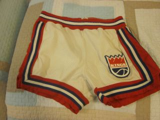 Mid 1970s NBA Basketball Kansas City Kings Game Used Shorts 44 Sam