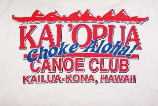 Outriggfer Canoe Club T Shirt KaiOpua Kailua Kona