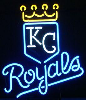 Kansas City Royals Baseball Beerbar Pub Neon Light Sign