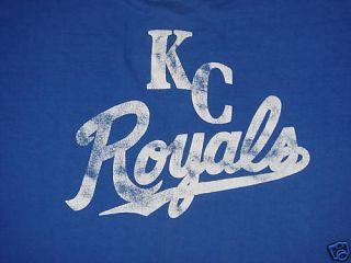 Vintage Kansas City Royals Baseball Shirt 1970s RARE