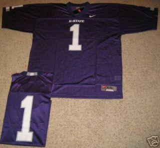 Kansas State Wildcats Football Jersey Purple 1