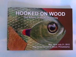 EDITION FISH ICE SPEARING DECOY BOOK HOOKED ON WOOD KANGAS/WALTERS
