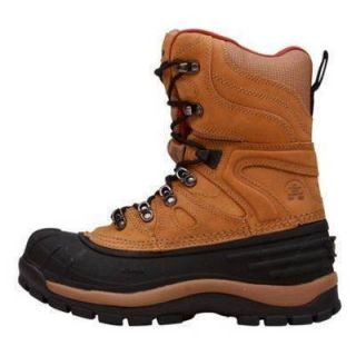 Kamik Patriot 3 Insulated 58 F Winter PAC Brown Boots Shoes Waterproof
