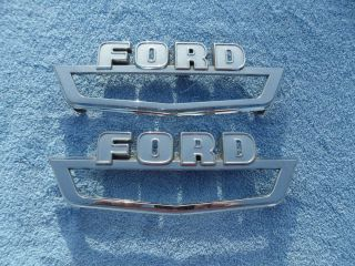 1963 64 65 66 Ford F100 Pickup Truck Fender Emblems