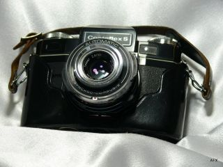 Zeiss Ikon Contaflex s Black with Leather Case