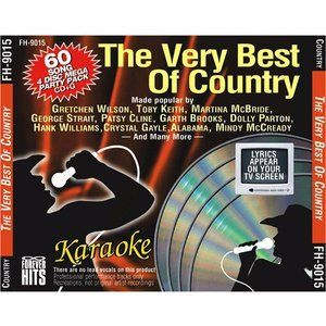 Best of Country Karaoke 60 Song 4 CDG Pack Forever Hits