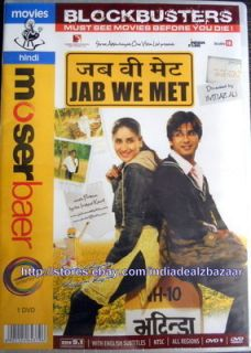 Original Bollywood DVD Shahid Kapoor Kareena Kapoor Bollywood Movie