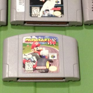 Nintendo 64 N64 Mario Kart Game NES 3 Other N64 Games Nice