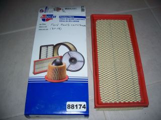 Car quest 88174 air filter ford family cars trucks 1987 1998 1997 1996
