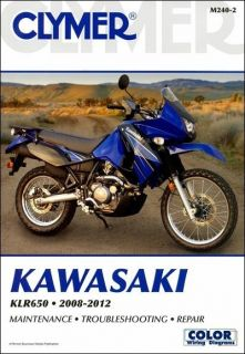 2008 2012 Kawasaki KLR650 KLR 650 Clymer Repair Manual