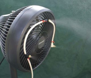 Misting Fan 3 Nozzle Water Mister US Made