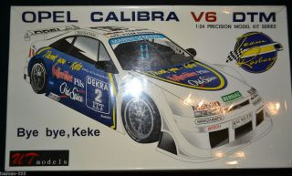 OPEL Calibra V6 DTM 1 24 Bye Bye Keke Team Rosberg Model kit car RARE