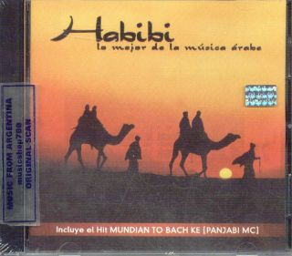 Habibi Best of Arabian Music SEALED CD New Panjabi MC Khaled Latifa