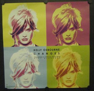 Kelly Osbourne Promo Poster Changes Duet with Ozzy Osbourne 2003