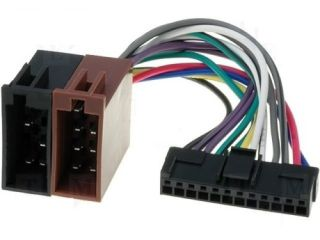 Pioneer DEH KEH Black 12 Pin New ISO Wiring Harness