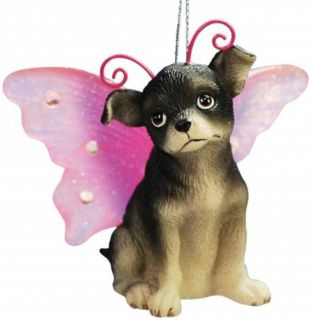 Keith Kimberlin Chihuahua Puppy Dog Ornament Angel Wing