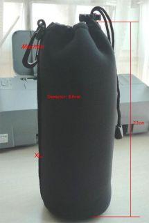 Neoprene Soft Waterproof Camera Lens Pouch Case Bag XL