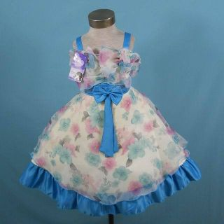 New Tag Wedding Flower Girl Pageant Holiday Dress Sz 5 5T