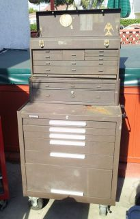 Kennedy 8 Drawer Tool Chest 5 Drawer Rolling Tool Box Combo