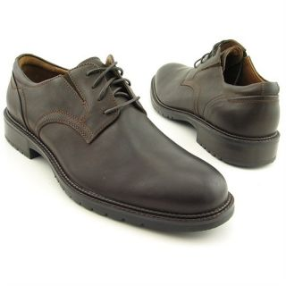 Johnston Murphy Kennard Plain Toe Mens Leather Oxfords Shoes $150 New
