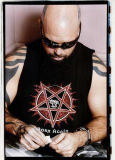 Kerry King Mini Poster Magazine Pin Up 2 UK RARE Slayer