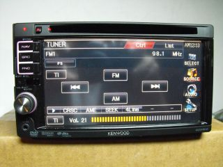 Kenwood DDX 514 6 1 inch Car DVD Player Excellent Condition