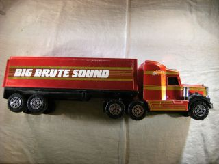 Brute Sound Kenworth Semi Tractor Trailer Truck Used Toy Solid