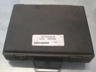 Tester Test Kit Yu 91022 B Kent Moore Electro Specialties