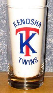 Kenosha Twins Minor League Baseball Team Tumbler Beer Glass