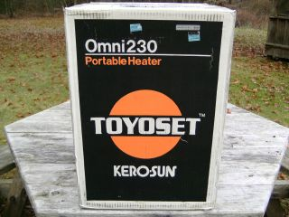 Toyoset Kerosun Omni 230 Kerosene Heater Portable with Safety Features