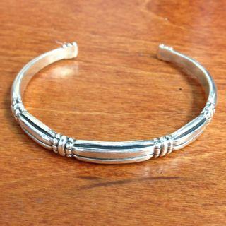 James Avery Sterling Cuff Bangle Bracelet