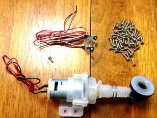 Keurig Replacement Parts Water Pump Basin Blue Light Indicator Screws