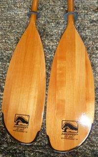 New Bending Branches Sandpiper Day Wood Kayak Paddle