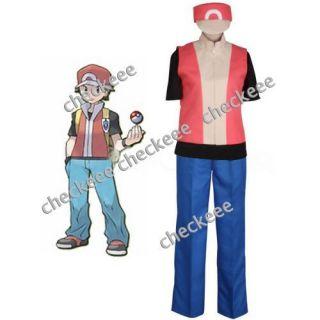 New Pokemon Ash Ketchum Cosplay Costume