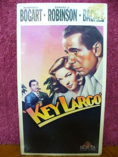 Key Largo NEW VHS HUMPHREY BOGART EDWARD G. ROBINSON LAUREN BACALL