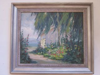 CARL SCHMIDT PAINTING EARLY CALIFORNIA PLEIN AIR LANDSCAPE