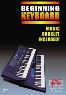 NEW SMP BEGINNING KEYBOARD DVD BEGINNER LESSON K1D EASY YAMAHA ROLAND