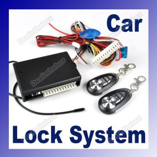 Universal Car Remote Central Lock Locking Keyless Entry System