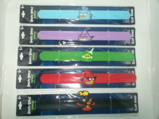 Brand New Angry Birds Space Slap Bands Slap Bracelets