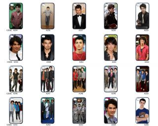 Joe Kevin Nick Jonas Brothers Apple iPhone 4 Case Cover