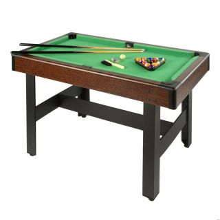 Voit 48 Pool Table Billiards with Accessories Game Kids Arcade Fun